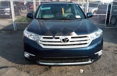 Foreign Used Toyota Highlander 2012 Model Blue