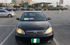 Nigeria Used Toyota Corolla 2003 Model Black