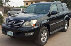 Nigeria Used Lexus GX 2006 Model Black