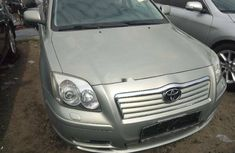Foreign Used Toyota Avensis 2006 Model Silver