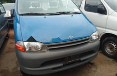 Foreign Used Toyota HiAce 2000 Model Blue