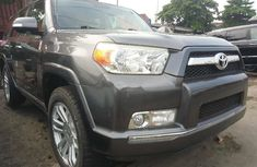 Foreign Used Toyota 4-Runner 2012 Model Gray