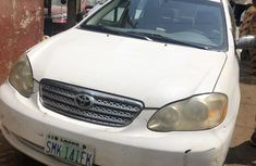 Nigeria Used Toyota Corolla 2007 Model White