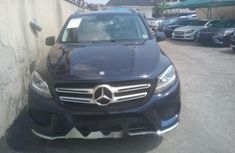 Foreign Used Mercedes-Benz GLE 2016 Model Blue