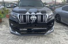 Nigeria Used Toyota Land Cruiser Prado 2011 Model Black