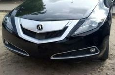 Foreign Used Acura ZDX 2011 Model Black
