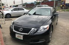 Foreign Used Lexus GS 2009 Model Black