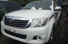 Foreign Used Toyota Hilux 2012 Model White