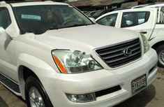 Foreign Used Lexus GX 2005 Model White