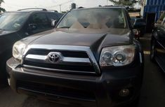Foreign Used Toyota 4-Runner 2007 Model Gray