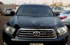 Nigeria Used Toyota Highlander 2008 Model Blue