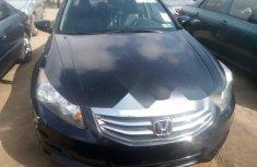 Foreign Used Honda Accord 2012 Model Black