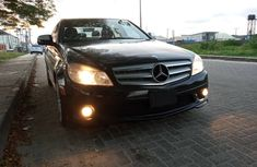 Foreign Used Mercedes C300 2010 Model Black for Sale