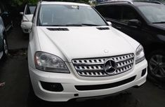 Foreign Used Mercedes ML350 2008 Model White for Sale