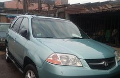 Nigerian used Acura MDX 2003 Model Green for Sale