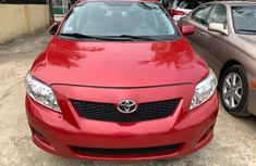 Foreign Used Toyota Corolla  2008 Model Red for Sale