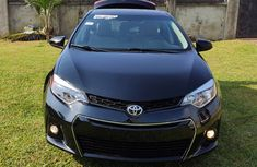 Foreign Used Corolla 2014 Model Black for Sale