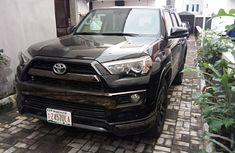 Nigeria Used Toyota 4-Runner 2017 Model Black