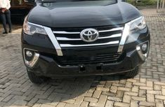 Nigeria Used Toyota Fortuner 2016 Model Black
