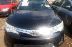 Tokunbo Toyota Camry 2014 model Black
