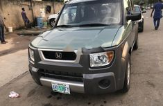 Nigeria Used Honda Element 2003 Model Green