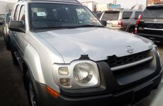 Foreign Used Nissan Xterra 2002 Model Silver