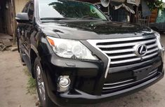 Foreign Used Lexus LX 2015 Model Black
