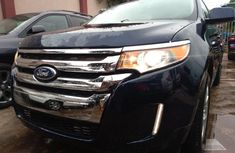 Foreign Used Ford Edge 2011 Model Blue