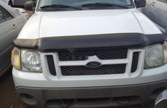 Foreign Used Ford Explorer 2002 Model White