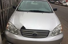 Clean Foreign used Toyota Corolla 2003