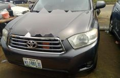 Nigeria Used Toyota Highlander 2009 Model Gray