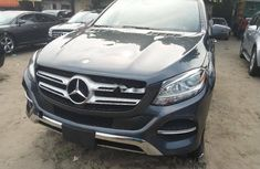 Foreign Used Mercedes-Benz GLE 2017 Model Gray