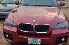 Nigeria Used BMW X6 2008 Model Red