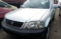 Foreign Used Honda CR-V 2001 Model Silver