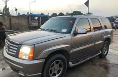 Foreign Used Cadillac Escalade 2004 Model Gold