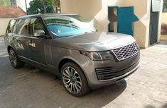 Foreign Used Land Rover Range Rover Vogue 2018 Model Gray