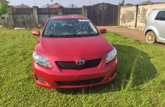 Foreign Used 2010 Corolla 2010 Model Red
