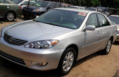 Foreign Used Toyota Camry 2003 Model Silver
