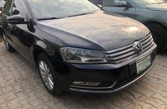 Nigeria Used Volkswagen Passat 2013 Model Black for Sale
