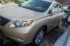Foriegn Used Accident free Lexus RX350 2011