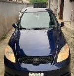 Nigeria Used Toyota Matrix 2005 Model Blue