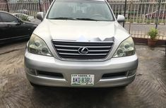 Foreign Used Lexus GX 2005 Model Silver