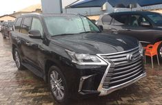 Foreign Used Lexus LX  2018 Model Black
