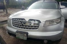 Nigeria Used Infiniti FX 2004 Model Silver