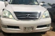 Foreign Used Lexus GX 2003 Model White