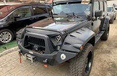Foreign Used Jeep Wrangler 2017 Model Black