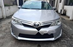 Foreign Used Toyota Camry 2012 Model Silver for Sale