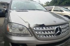 Nigeria Used Mercedes-Benz ML350 2006 Model Gold