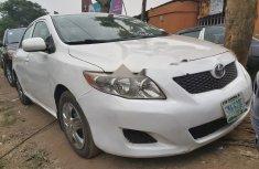 Neat Nigerian used 2008 Toyota Corolla