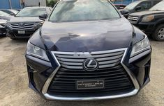 Foreign Used Lexus RX 2016 Model Blue